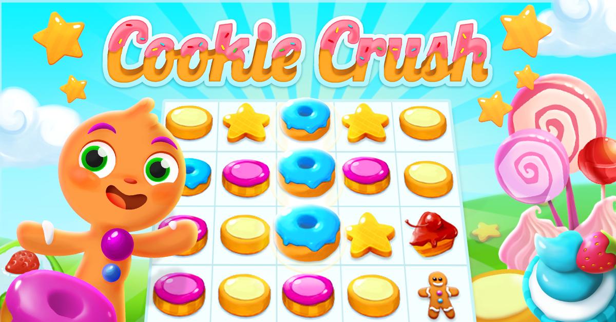 Игру Cookie Crush запустили в Facebook Instant Games больше миллиарда раз